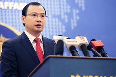 Người phát ngôn nói về phát biểu của ông Tập ở Singapore