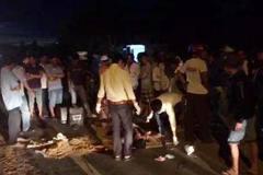 Tai nạn thảm khốc trên QL1A: 2 người chết, 1 bị thương