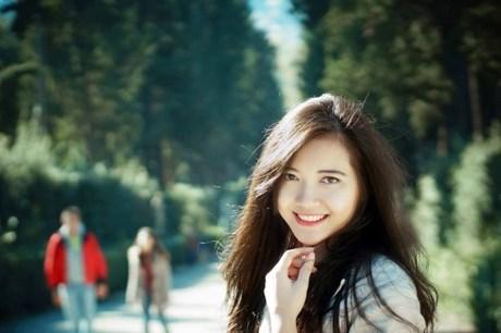du học sinh, xinh đẹp, ngoại ngữ