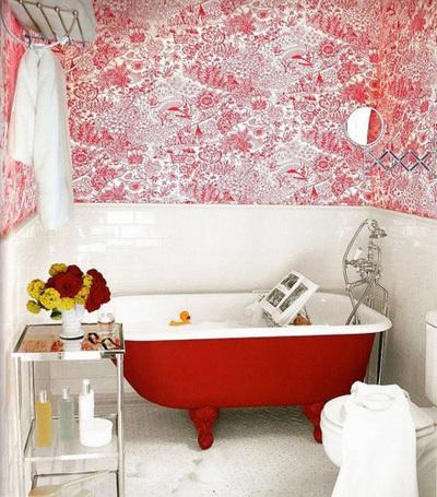 trang trí phòng tắm, nội thất phòng tắm, màu sắc cho phòng tắm đẹp