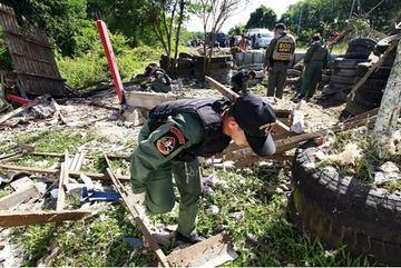 Nổ bom ở Thái Lan, 8 người thương vong