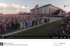 Facebook cho người xem video tự chỉnh... máy quay