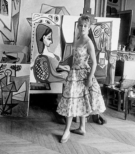 biểu tượng sex, Brigitte Bardot, Picasso, danh họa, màn bạc, minh tinh, điện ảnh, hội họa, vietnamnet