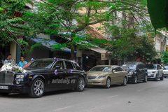 Trai Hà Nội đi hỏi vợ Hải Phòng bằng đoàn xe siêu sang