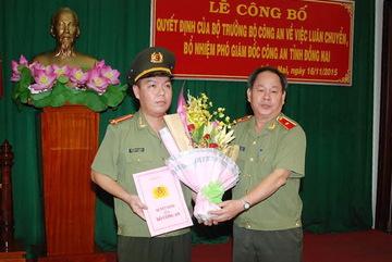 Con Chủ tịch TP.HCM làm Phó giám đốc Công an Đồng Nai