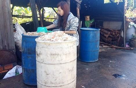 Đại ca cai thầu nước rác, cơm thừa: Kiếm trăm triệu