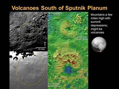 Phát hiện núi lửa phun ra băng trên sao Diêm Vương