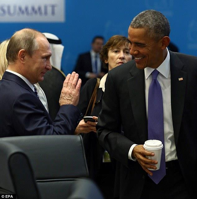 Nga, Mỹ, Putin, Barack Obama, IS, Nhà nước Hồi giáo, khủng bố