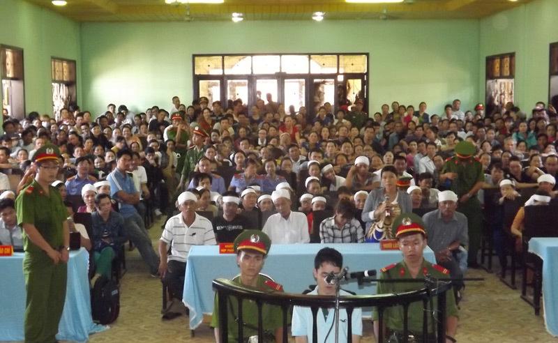 kẻ sát nhân, tuyên án tử, giết 2 người ở Quảng Trị