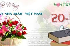 Bộ Giáo dục không nhận hoa, tiếp khách ngày 20/11