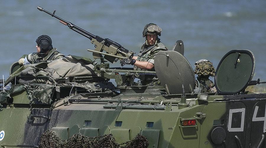 Nga, NATO, tap tran, bien gioi, dien tap quan su, chien luoc, the gioi 24h