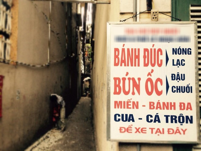 Quán bánh đúc nóng lâu đời nhất Hà Nội