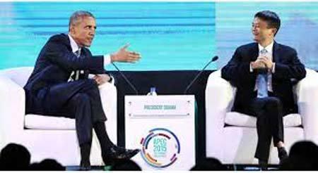 Cuộc gặp gỡ đặc biệt giữa Obama và tỷ phú Jack Ma
