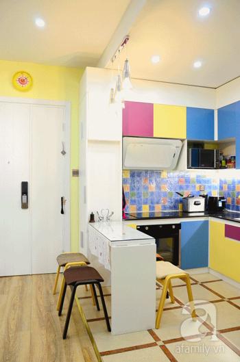 Căn hộ 80m² 'đụng đâu' cũng là nội thất thông minh ở Cầu Giấy, Hà Nội