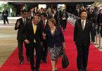Tập Cận Bình bước đơn độc trên thảm đỏ APEC