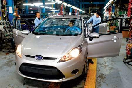 Giảm thuế linh kiện ô tô Nhật về 0%