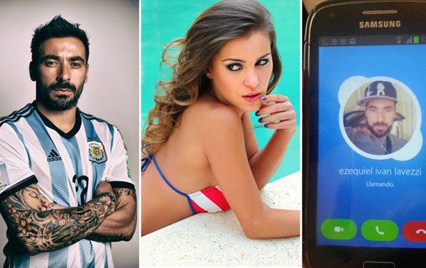 Lavezzi: Chat sex là nghề của chàng