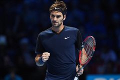 Hạ Nishikori, Federer hùng dũng vào bán kết