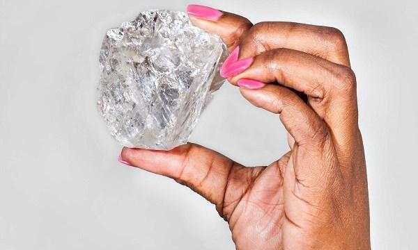 Phát hiện viên kim cương lớn nhất trong vòng hơn 100 năm