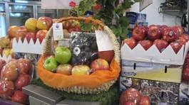 Trưa 20/11: Cháy hàng hoa quả ngoại biếu cô