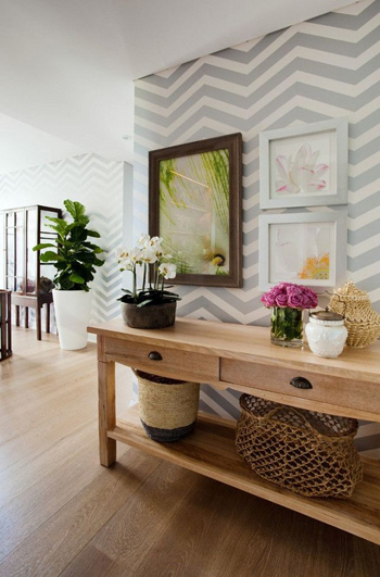 trang trí nhà với họa tiết xương cá, thay áo mới cho ngôi nhà, nội thất nhà đẹp