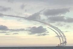 Tàu chiến Nga nã tên lửa hành trình từ biển Caspian vào IS