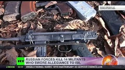 Nga diệt nhóm khủng bố liên quan đến IS