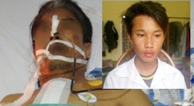 Bắt được thiếu niên 15 tuổi đâm anh xe ôm xuyên gáy