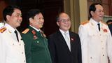 Giới thiệu ông Nguyễn Sinh Hùng đứng đầu HĐ bầu cử quốc gia