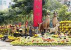Đường hoa Tết TPHCM dời lại phố đi bộ Nguyễn Huệ