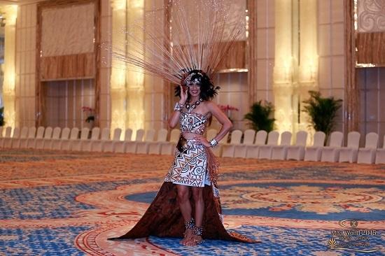 Hoa hậu Thế Giới, trang phục dân tộc, Lan Khuê, gợi cảm, Victoria's Secret, giải trí, vietnamnet