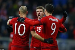 Highlights C1: Bayern Munich 4-0 Olympiakos