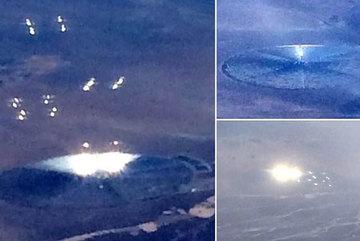Phát hiện UFO gần căn cứ quân sự tối mật của Mỹ