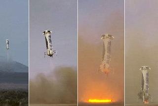 'Cha đẻ' Amazon thử nghiệm tên lửa tái sử dụng đầu tiên thế giới