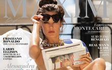 Người mẫu khỏa thân trên bìa tạp chí