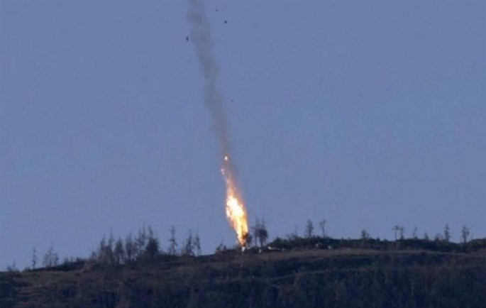 SU-24M, không quân Nga, tiêm kích F-16, Thổ Nhĩ Kỳ, Nga, Putin, IS
