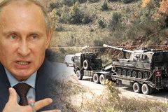 Máy bay ném bom Nga oanh tạc cửa khẩu Thổ Nhĩ Kỳ