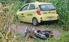 Taxi tông chết cô gái mang thai 9 tháng