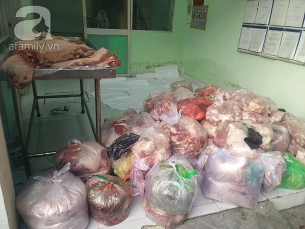 Thịt lợn thối tiêm thuốc an thần, ngâm hóa chất thành thịt tươi