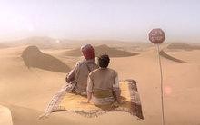 Không nhịn được cười với phim Aladdin chế