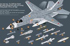 Uy lực tuyệt vời của máy bay cường kích Su-24M