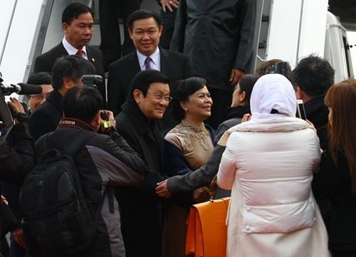 chuyến thăm Đức, chủ tịch nước Trương Tấn Sang, kim ngạch thương mại, Đức, Việt Nam