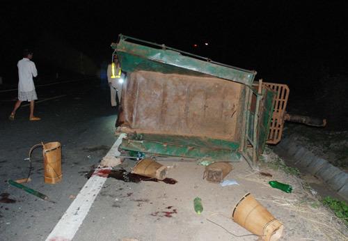 Tai nạn thảm khốc, 5 người chết, 9 người bị thương