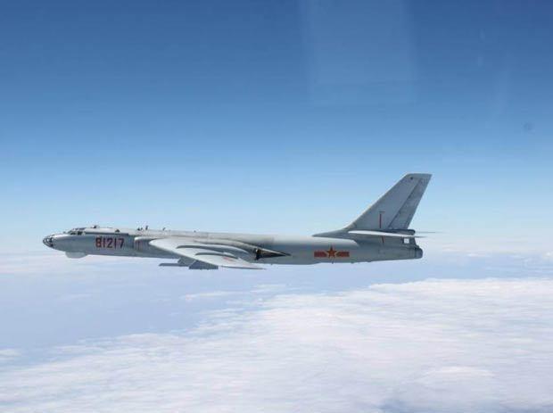 Hàng loạt phi cơ Trung Quốc bay gần không phận Nhật