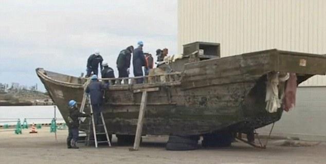 Tàu, bí ẩn, Nhật Bản, Triều Tiên, đánh cá, thủy thủ, GPS, công nghiệp, Quân đội Nhân dân Triều Tiên, thi thể, xác chết, nhận dạng