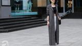 Street style cuối tuần: Quý cô Hà Thành diện đồ mát mẻ bất chấp thời tiết lạnh