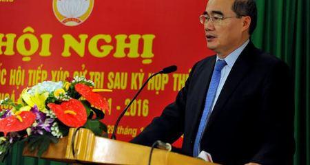 Chủ tịch MTTQ vận động '3 không' về an toàn thực phẩm