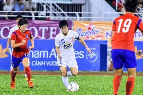 Tuyệt phẩm sút xa xé lưới U19 Hàn Quốc của Công Phượng