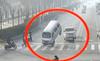 Xem ôtô bốc đuôi giữa phố như phim hành động