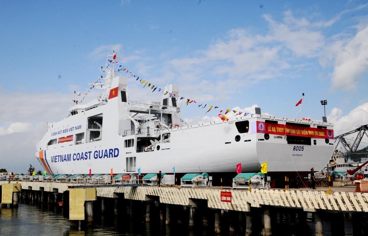 tàu cảnh sát biển 8005, bảo vệ chủ quyền